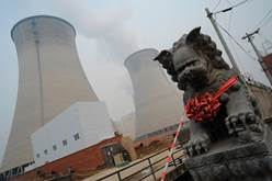 Chai Jing coal towers - China burns more coal than any other country in the world – about half the total every year – and is responsible for more than a third of the greenhouse gases that impact global warming. AFP