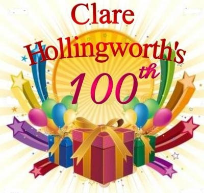 lare HOLLINGWORTH's 100th birthday party