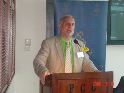 FCC club lunch with Dr Philip NITSCHKE