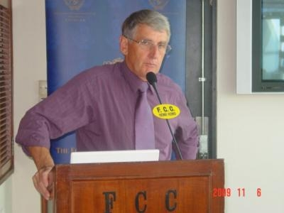 FCC club lunch with David ANDRESON