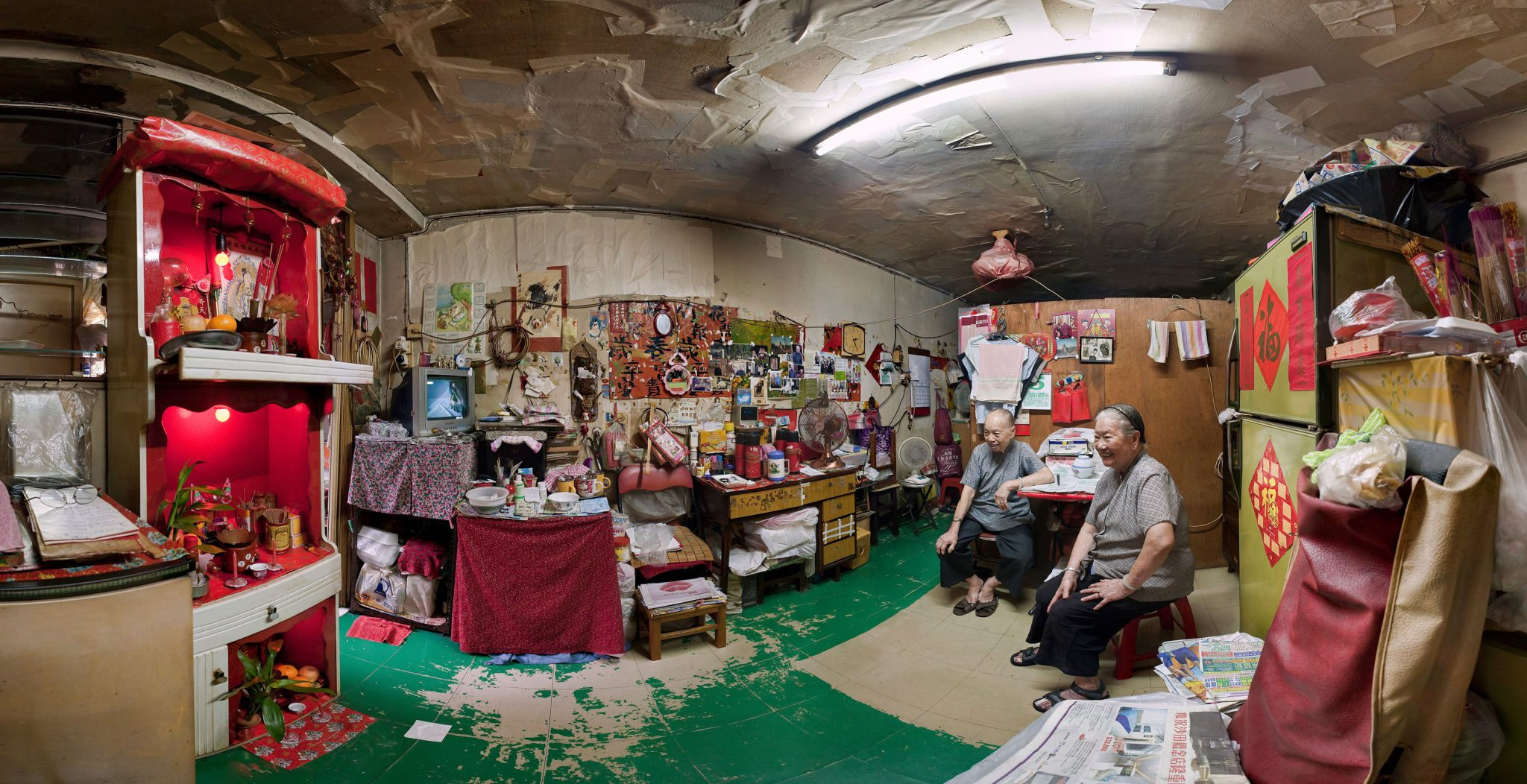 Vanishing Cityscapes:  The Last Hong Kong Resettlement Estate