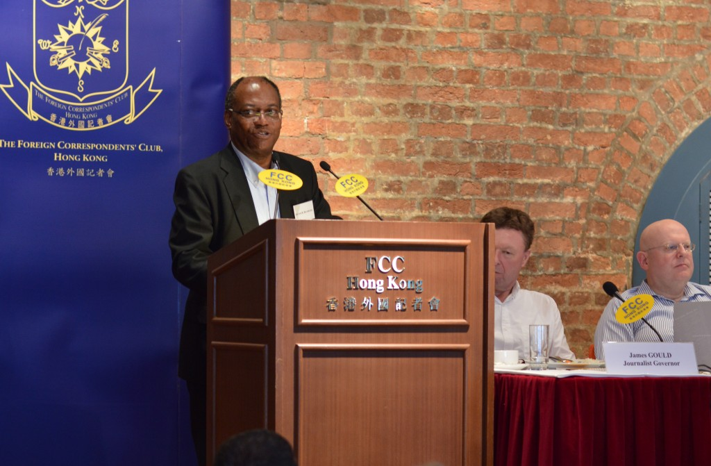 Keith Richburg said JMSC students would learn from professionals and get exposure. Photo: Sarah Graham