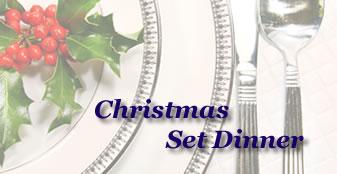 2016 Christmas Set Dinner