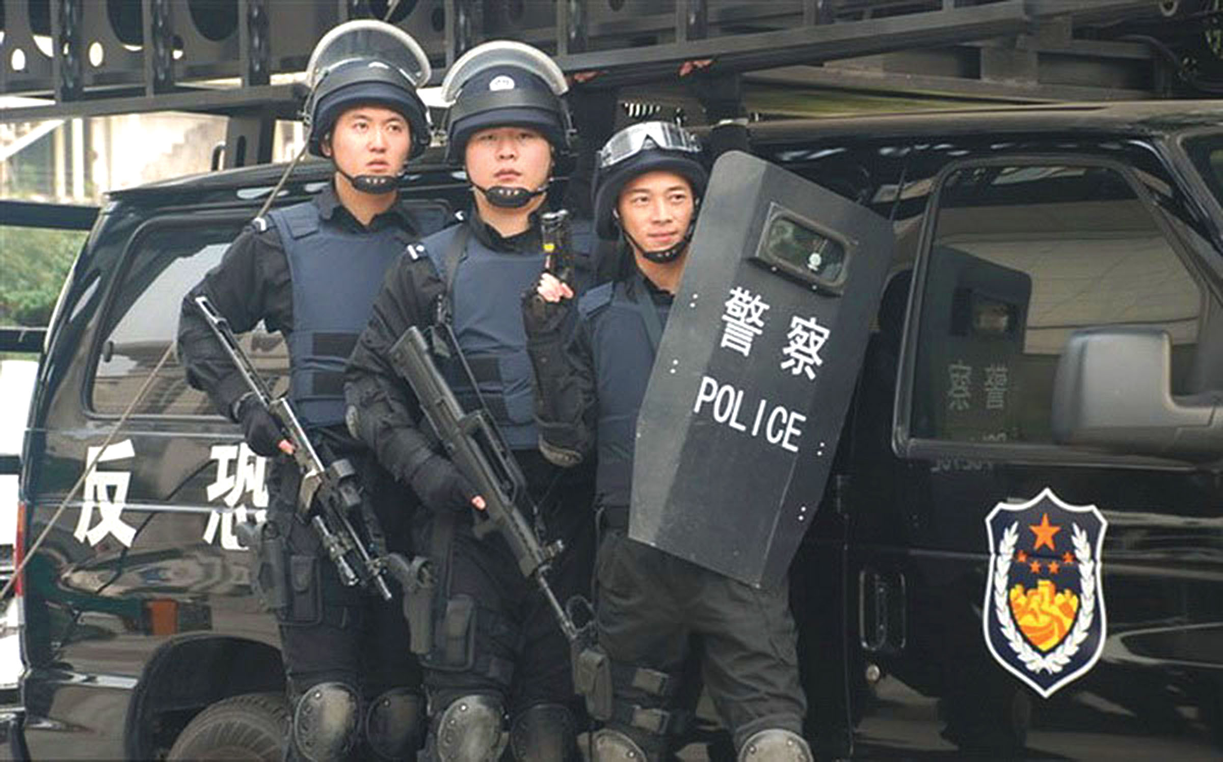 The Special Police Units (SPU) have an increased role in civil unrest and political demonstrations, often blocking journalist's access. Photo: unit_1.bp.blogspot.com