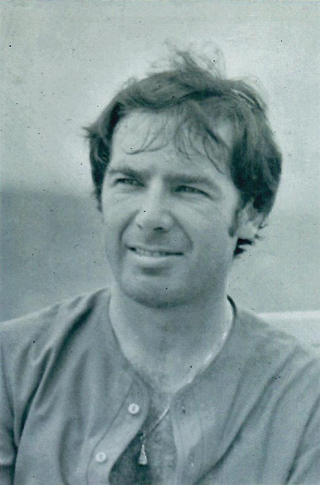 Walter in Thailand in 1970.