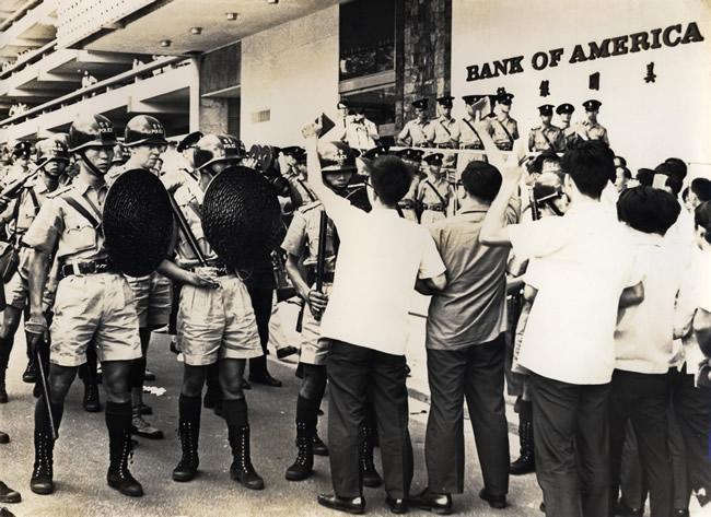 Wall Exhibition - Looking Back: Hong Kong 1967 Riots