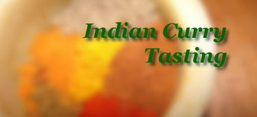 Indian Curry Tasting