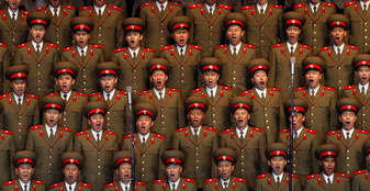 Wall Exhibition: North Korea (One Party State Machine) By Vincent Yu