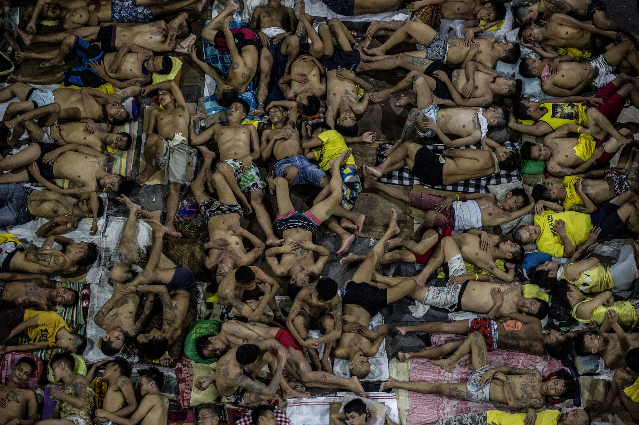 Last year's winner of the Photography Feature was Agence France-Presse's Noel Celis for his pictures of Quezon City jail. Photo: Noel Celis/AFP