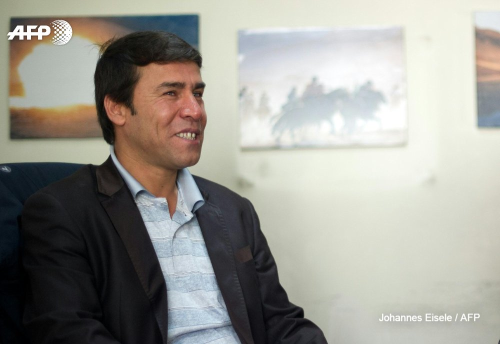 Shah Marai, Agence France-Presse's chief photographer in Kabul, died on April 30. Photo: AFP