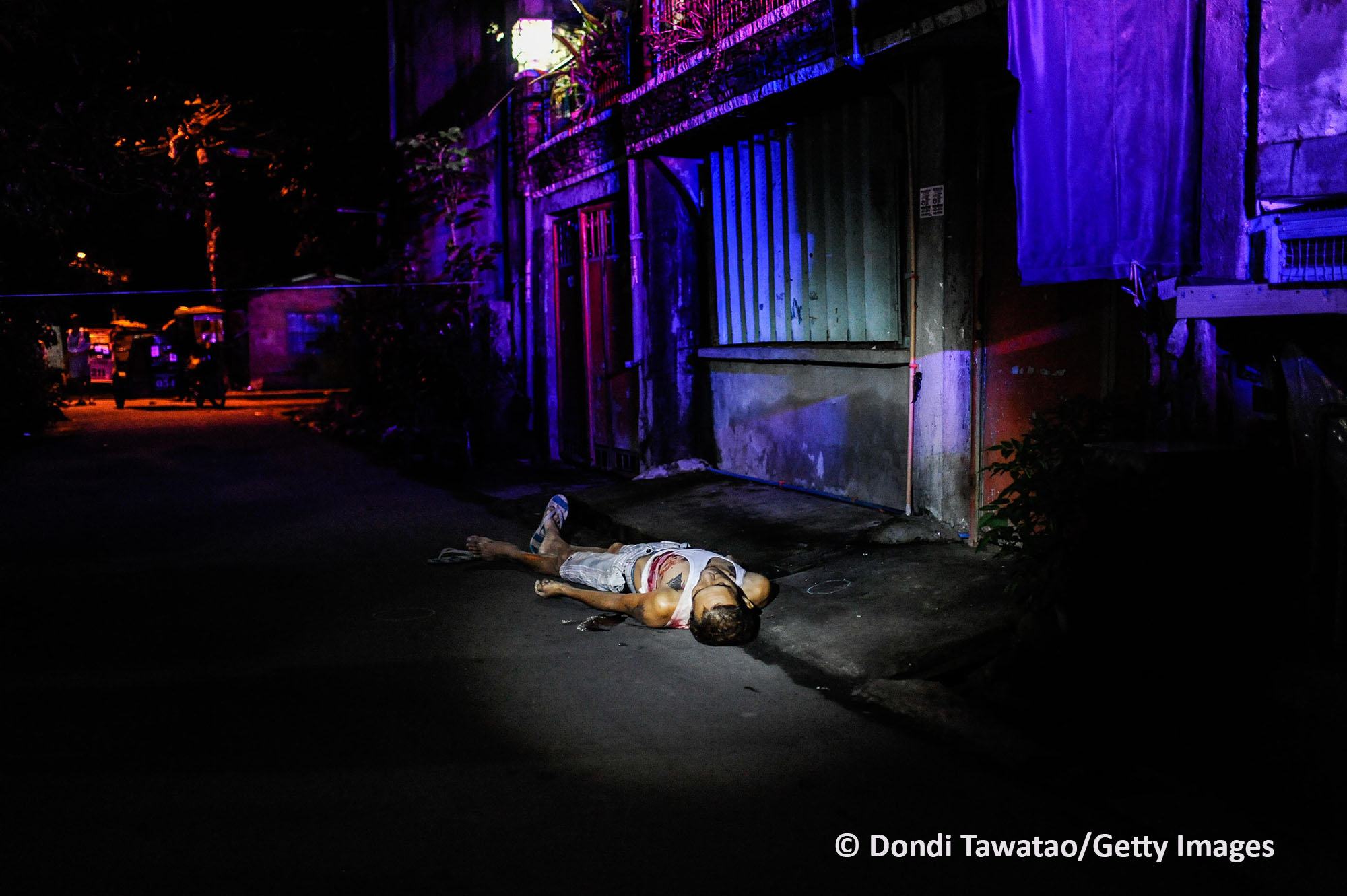 Merit, Photography Feature, 21st Human Rights Press Awards. Photo by Dondi Tawatao/Getty Images