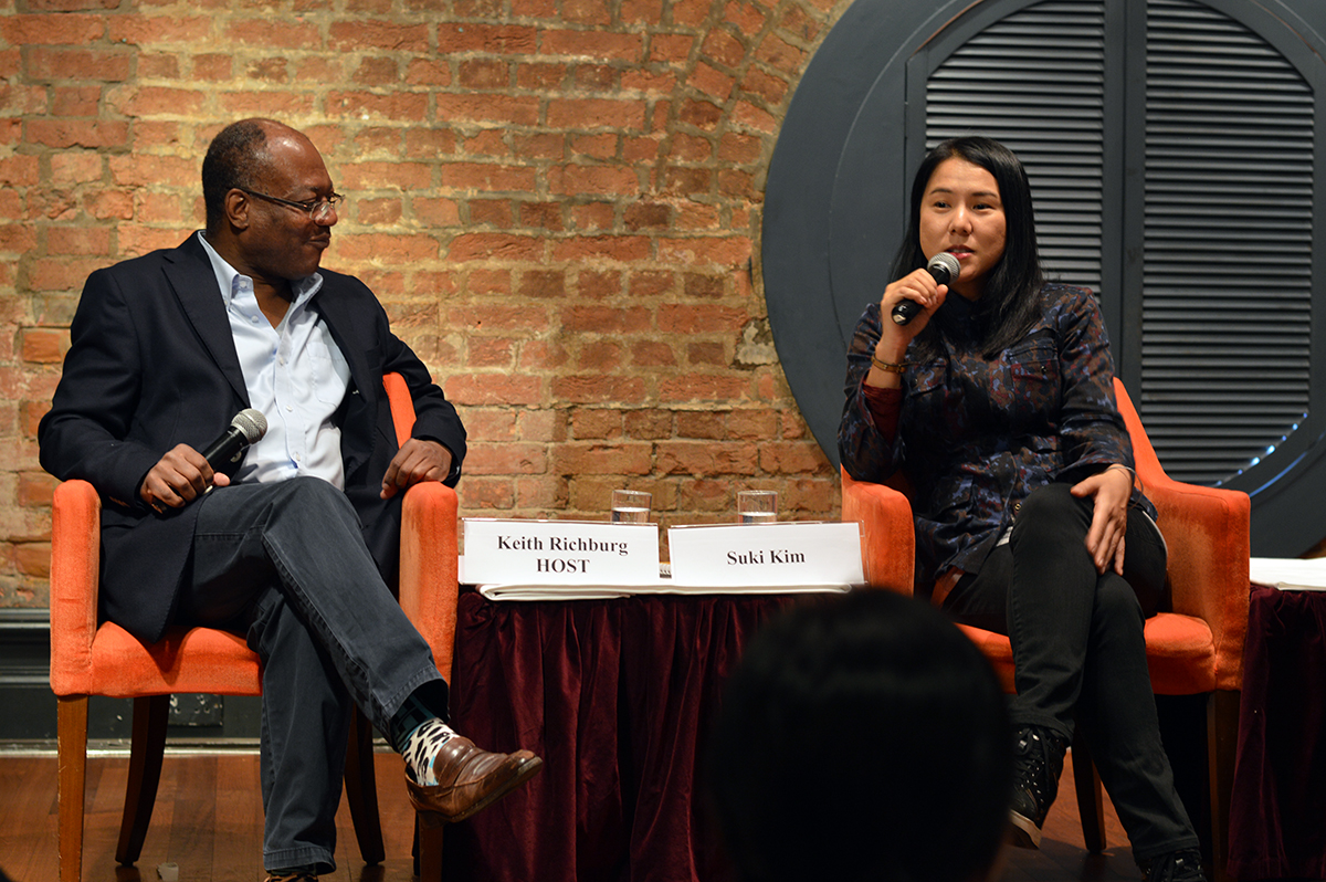 South Korean-born, American investigative journalist Suki Kim talked about her experiences in North Korea. Photo: Sarah Graham/FCC