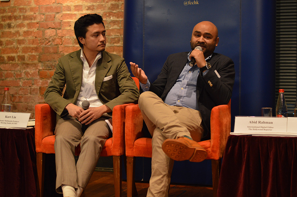 Left: Kurt Lin and Abid Rahman, right. Photo: Sarah Graham/FCC