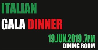 FCC Presents: Italian Gala Dinner