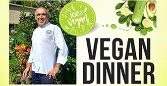 FCC Presents: 2nd Round Vegan Dinner x Guest Chef Heinz Egli