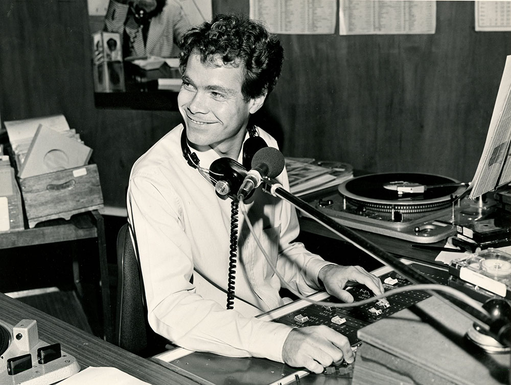 Nick at BFBS Hong Kong in 1981.