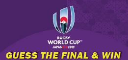 Rugby World Cup 2019 - Guess the Final Score & Win the Prize!