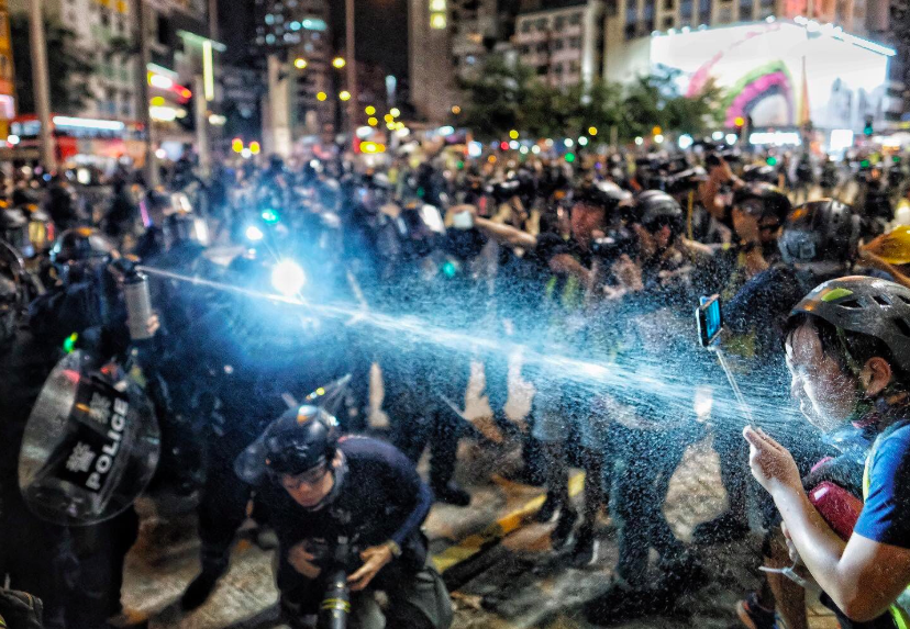 Hong Kong, September 7 2019. Photo: Hong Kong Journalists Association.
