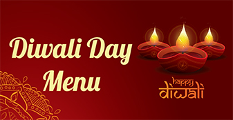Diwali Day Menu