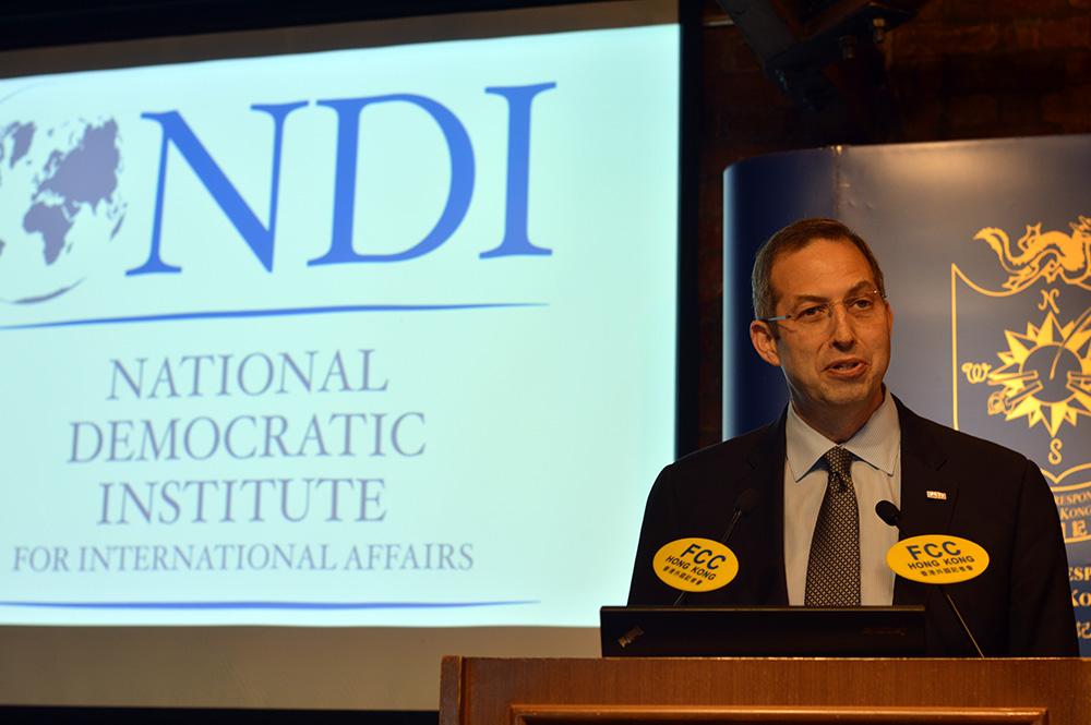 Derek Mitchell, president of the National Democratic Institute, and former U.S. Ambassador to Myanmar.