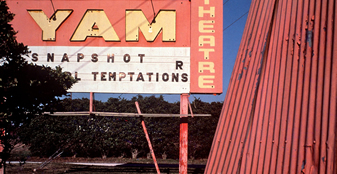 Wall Exhibition - Snapshot Temptations: USA 1972 – 1982 by Robin Moyer