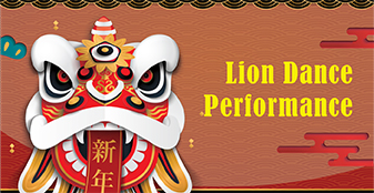Please come & join our Lion Dance Performance on Jan 30!