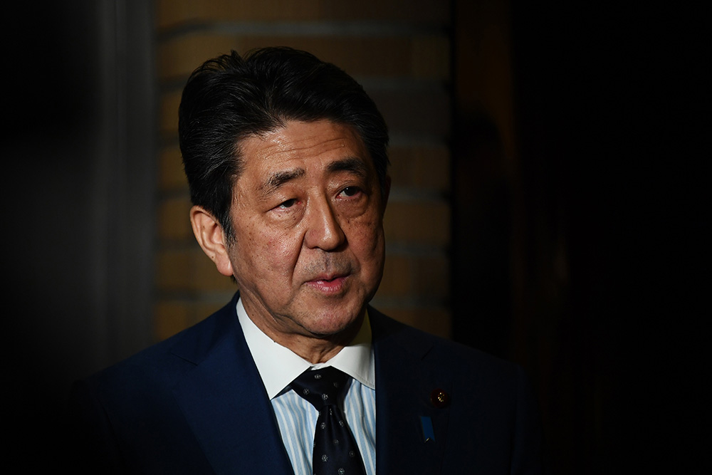 Japanese Prime Minister Shinzo Abe announces the Olympics postponement on March 24