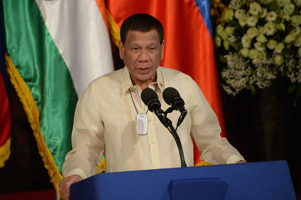 Philippines President Rodrigo Duterte is 'weaponising laws.. to make the media docile'