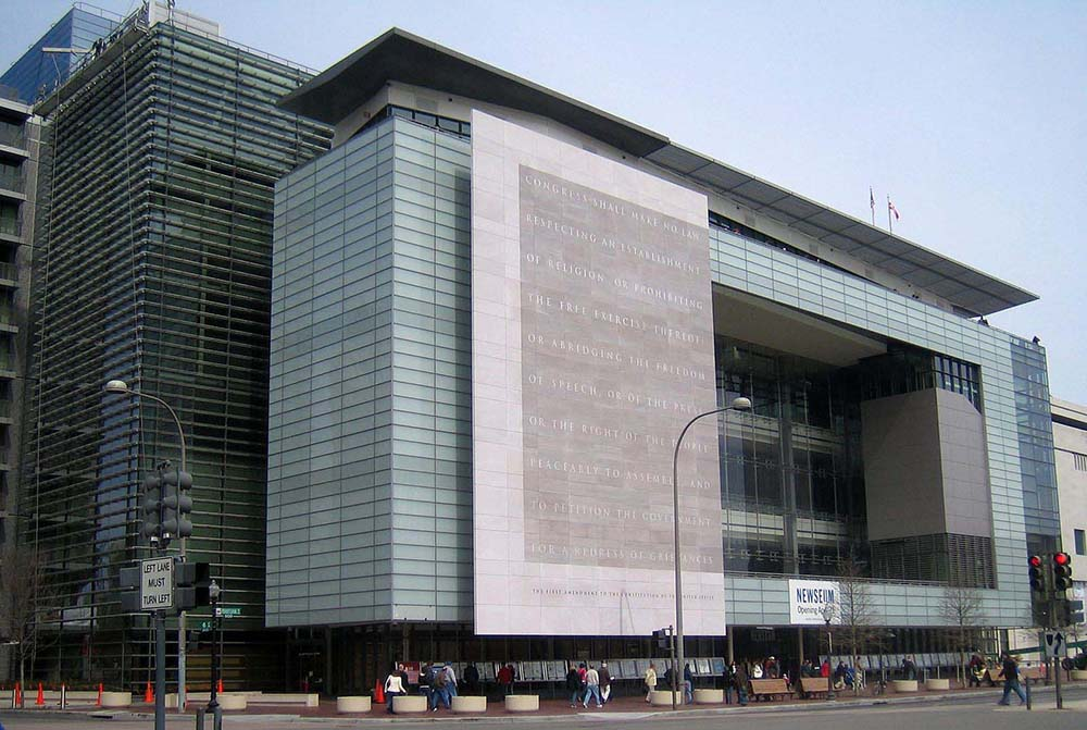 Financial troubles forced the Newseum in Washington D.C. to shut on December 31