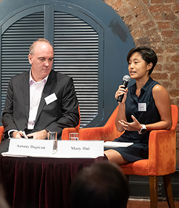 Hong Kong-based lawyer and writer, Antony Dapiran; Mary Hui, a reporter for Quartz; and vice convenor of the Civil Human Rights Front, Bonnie Leung Wing-Man talking about the Hong kong protest- What happened and what's next. at The Foreign Correspondents' Club, Hong Kong (FCC) on July 10th 2019