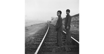 Wall Exhibition : Track of Time - Moments of Transition, Beijing 1986 by Patrick Dransfield