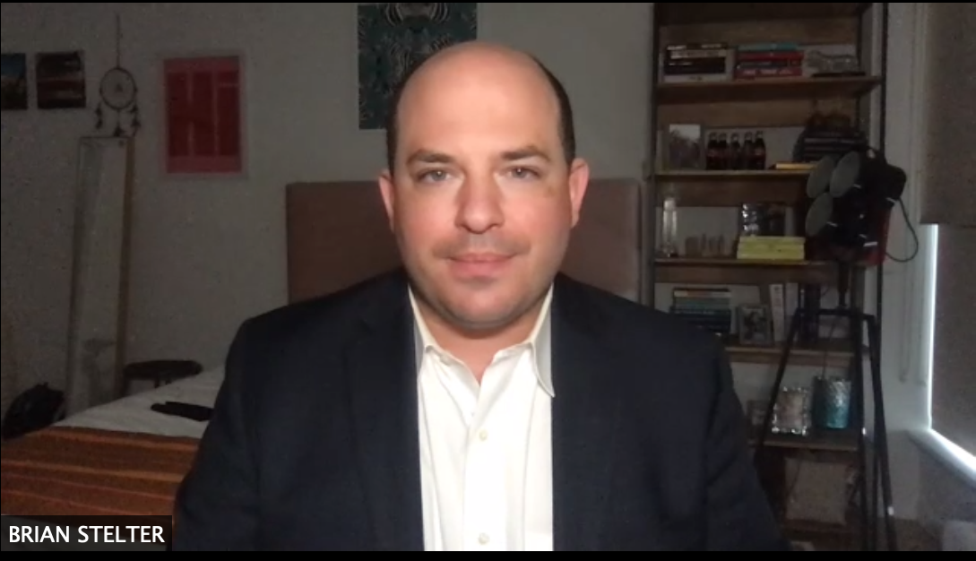 Brian Stelter is interviewed by Eric Wishart on September 8, 2020.