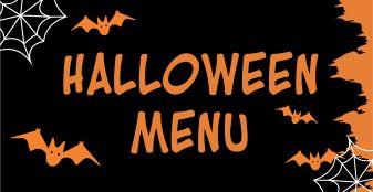 Halloween Snack Menu