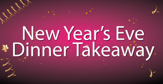 New Year's Eve Dinner Takeaway 2020