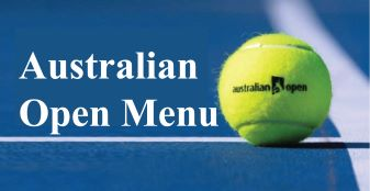 Australian Open Snack Menu & Combo Set