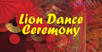 Lion Dance Ceremony
