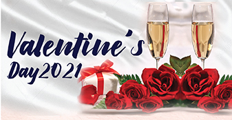 Enjoy the Valentine's Day with your loved one at the FCC!