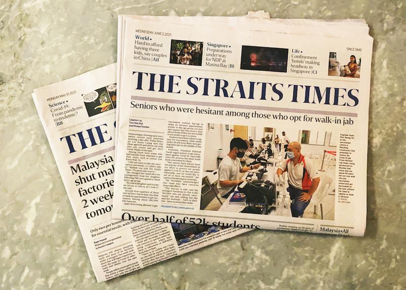 Strait Times